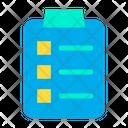 Board Checklist Clipboard Icon