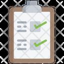 Checklist Tick Logistics Icon