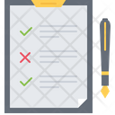 Check List Tablet Icon