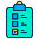 Ballot Paper Checklist Paper Election Paper Icon