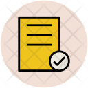 Checklist Verified List Icon