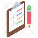 Checked List Approved List Product List Icon