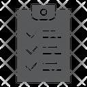 Checklist Document Form Icon