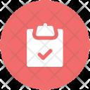 Checklist Medications Prescriptions Icon
