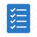 Checklist Document Realestate Icon