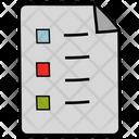 Checklist Questionnaire Survey Icon