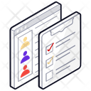 Checklist Target List Employee Target List Icon