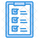Check List Report Data Checklist Report Icon