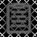 Checklist Shipping Delivery Icon