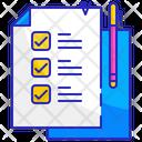 Checklist Check Paper Icon