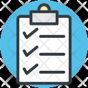 Checklist Clipboard Document Icon