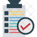 Checklist Approved Memo Icon