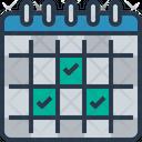 Checklist List Calendar Icon