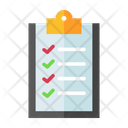 Checklist List Clipboard Icon