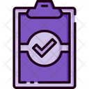 Checklist Clipboard Done Icon