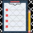 Checklist Paper Task Icon