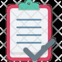 Checklist Checkmark Complete Icon