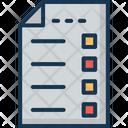 Checklist To Do Task Icon
