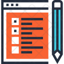 Checklist Evaluation Site Icon