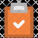 Checklist Clipboard Blank Icon