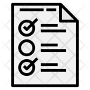 Check Box Mark Icon