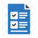 Checklist File Project Icon