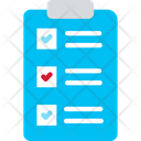 Checklist Marketing Report Business Report Icon