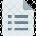 Detail Checklist Report Icon