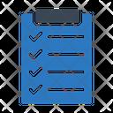 Project Checklist Tasklist Icon