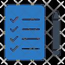 Checklist Tasklist Daily Icon