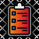 Checklist Clipboard Note Icon
