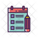 Iorganizing Checklist List Icon
