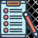 Checklist Clipboard Report Icon