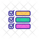Analyse Checklist Agreement Icon