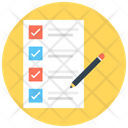 Checklist Task List Memo Icon