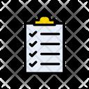 Checklist Project Checkup Icon