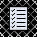 Checklist Tasklist Document Icon