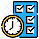 Time Clock Work Icon
