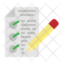 Test Document Homework Icon