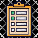 Checklist Clipoard List Icon