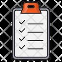Checklist Clipboard Medical Icon