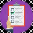 Checklist Clipboard Listing Icon