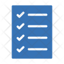 Checklist Tasklist Document Icon