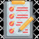 Test Checklist List Icon