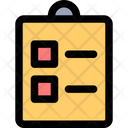 Clipboard Business List Icon