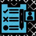 Checklist Tasks Clipboard Icon