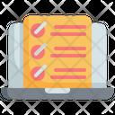 Checklist Online Customer Icon