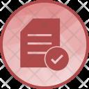 Checklist List Approve Icon