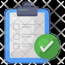 Approve List Checklist Todo List Icon
