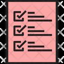 Checklist To Do List List Icon